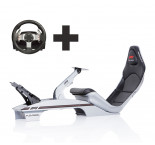 Playseat® F1 Gris Métal Ready to Race paquet