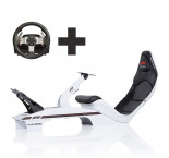 Playseat® F1 Blanc Ready to Race paquet