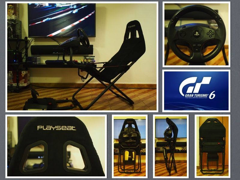 The most practical gaming seat in the market